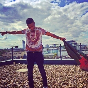 Wizkid Shows Off New Diamond Collection